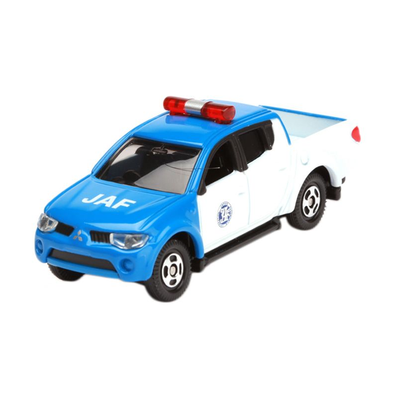 Tomica Mitsubishi Triton JAF Road Service Car Blue Diecast [1:64]