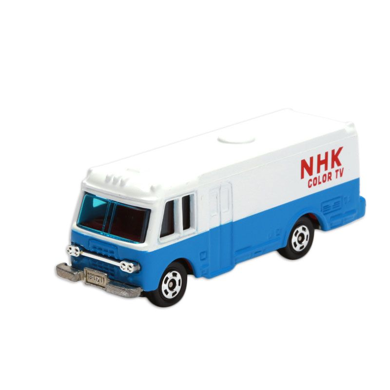 Tomica NHK Relay Truck White Diecast [1:64]