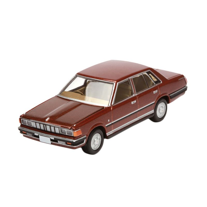 Tomica Nissan Cedric 4 Door Sedan Brown Diecast