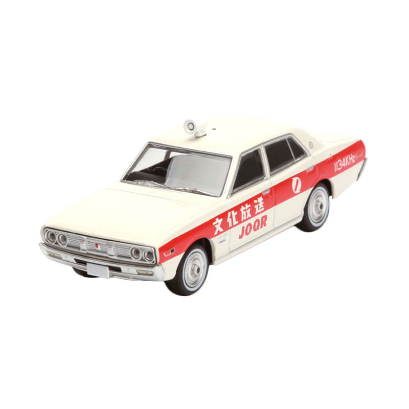 Tomica Nissan Cedric Cultural Broadcasting White Diecast [1:64]