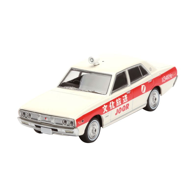 Tomica Nissan Cedric Cultural Broadcasting White Diecast