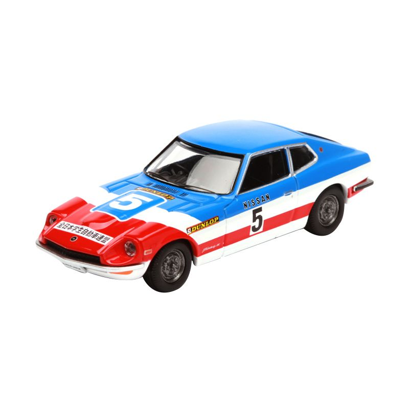 Tomica Nissan Fairlady 260Z AJSAA Blue Diecast
