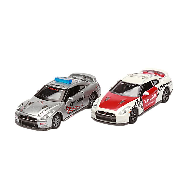 Tomica Nissan GT-R Collection Vol.1 Silver and Red Diecast