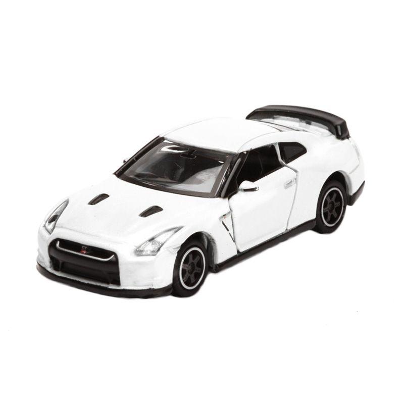 Tomica Nissan GTR V Spec White Diecast