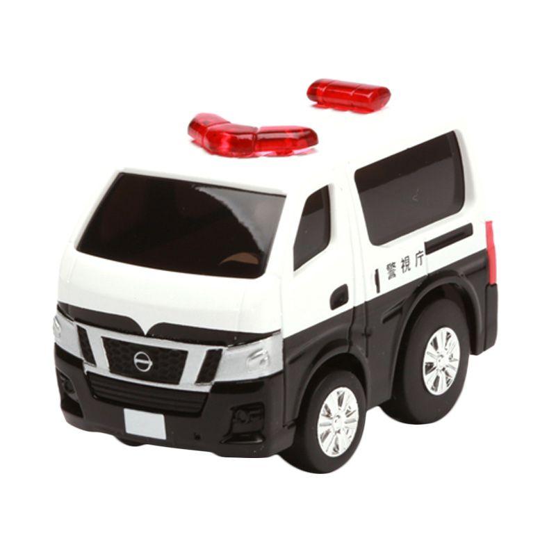 Tomica Nissan NV350 Caravan Police White Diecast