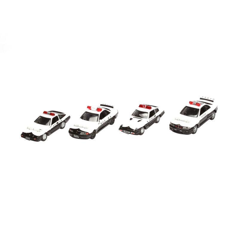 Tomica Nissan Police Set Diecast [4 Pcs]