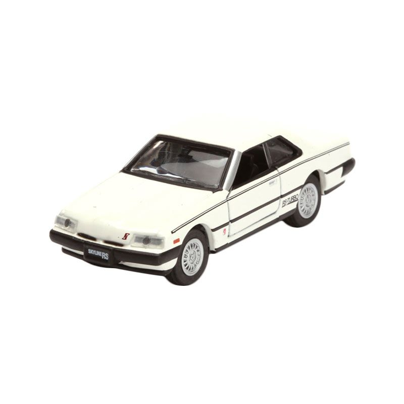Tomica Nissan Skyline 2000 RS Turbo White Diecast