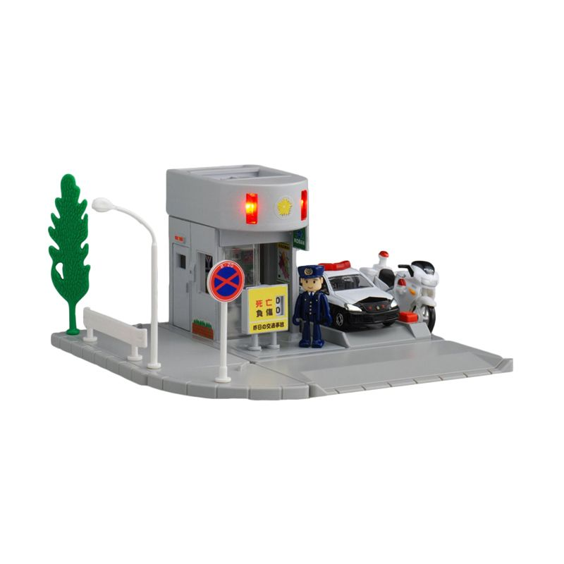 Tomica Police Box Silver Diecast [1:64]