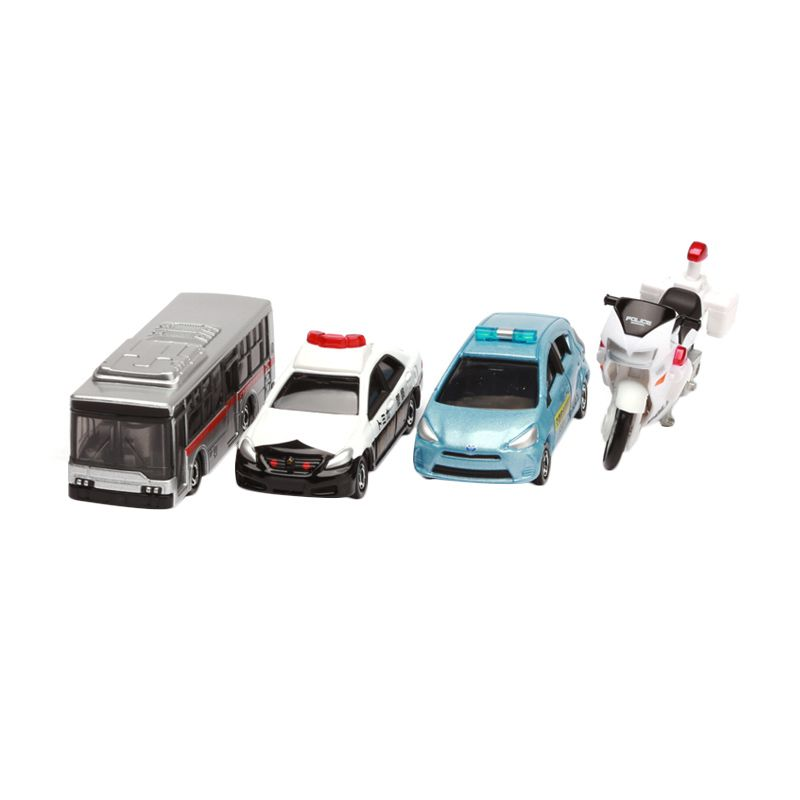 Tomica Police Traffic Safety Set Mix Diecast