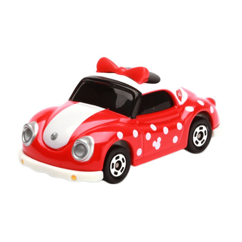 Tomica Poppins Minnie Mouse Red Diecast