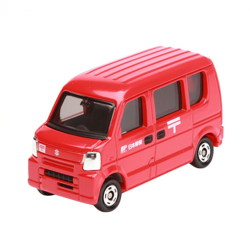 Tomica Post Van Red Diecast [1:64]