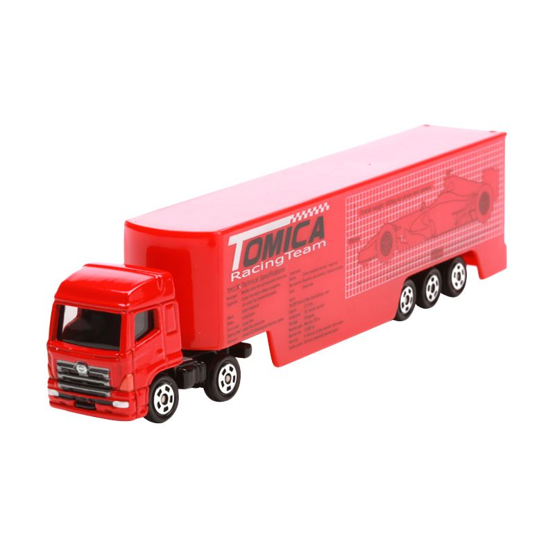 Tomica Racing Transporter Red Diecast [1:64]