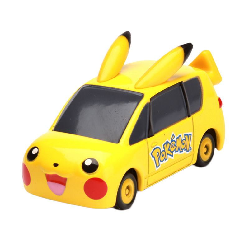 Tomica Pikachu Car Yellow Diecast