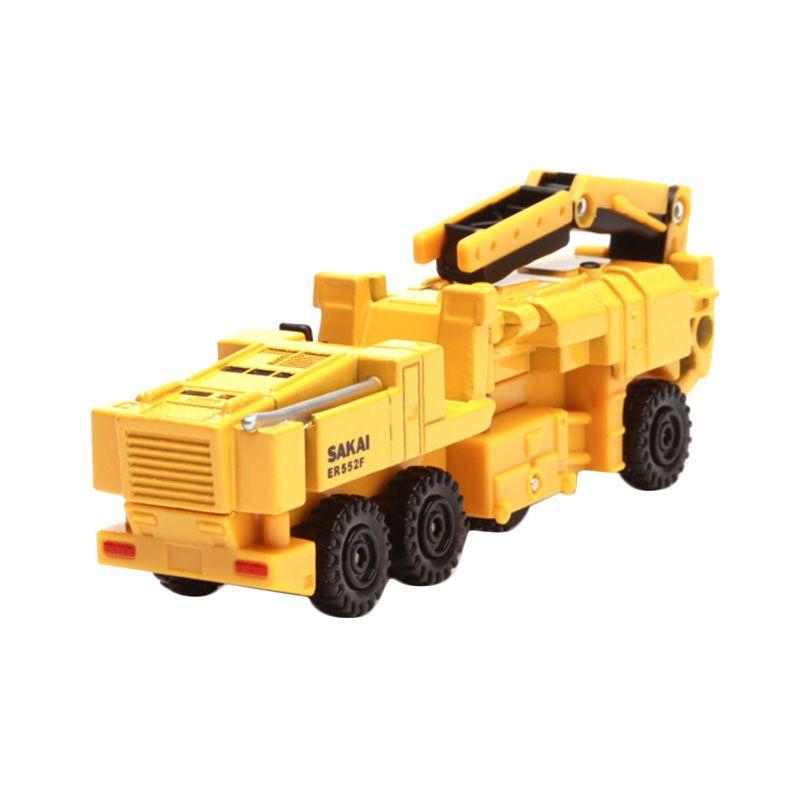 Tomica Sakai Pneumatic Tire Type Milling Machine Yellow Diecast [1:64]