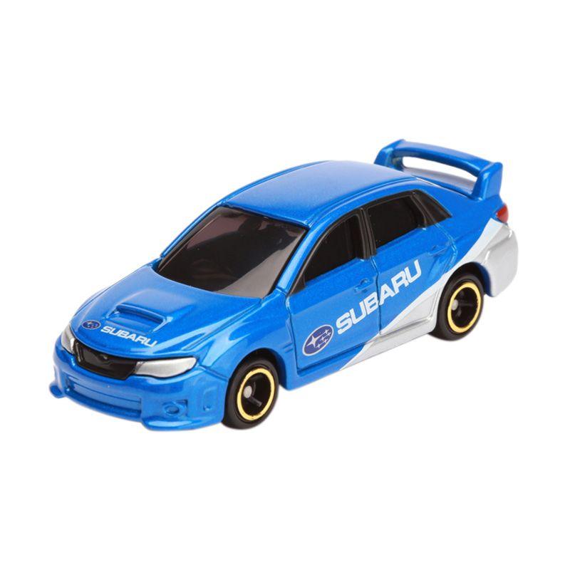 Tomica Subaru Impreza WRX Sti 4 Door Group R4 Blue Diecast [1:64]