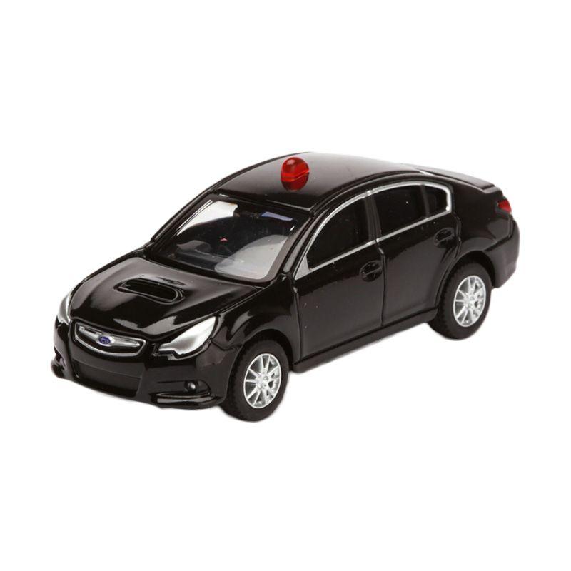Tomica Subaru Legacy B4 Unmarked Patrol Car Black Diecast