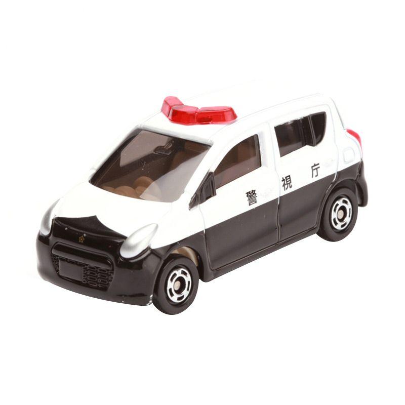 Tomica Suzuki Alto Police Car White Diecast