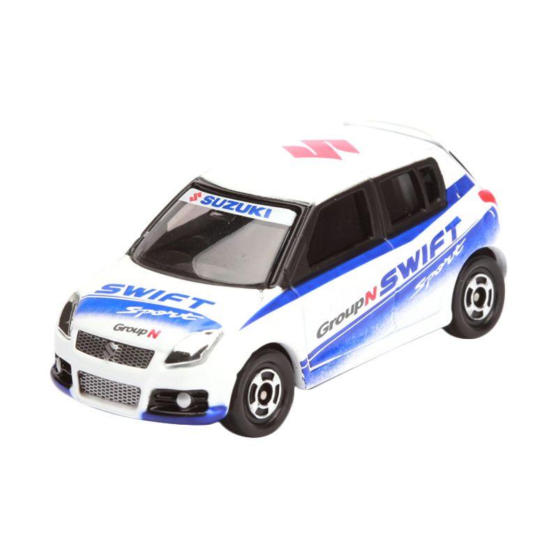 Tomica Suzuki Swift Sport Rallycup Car White Diecast