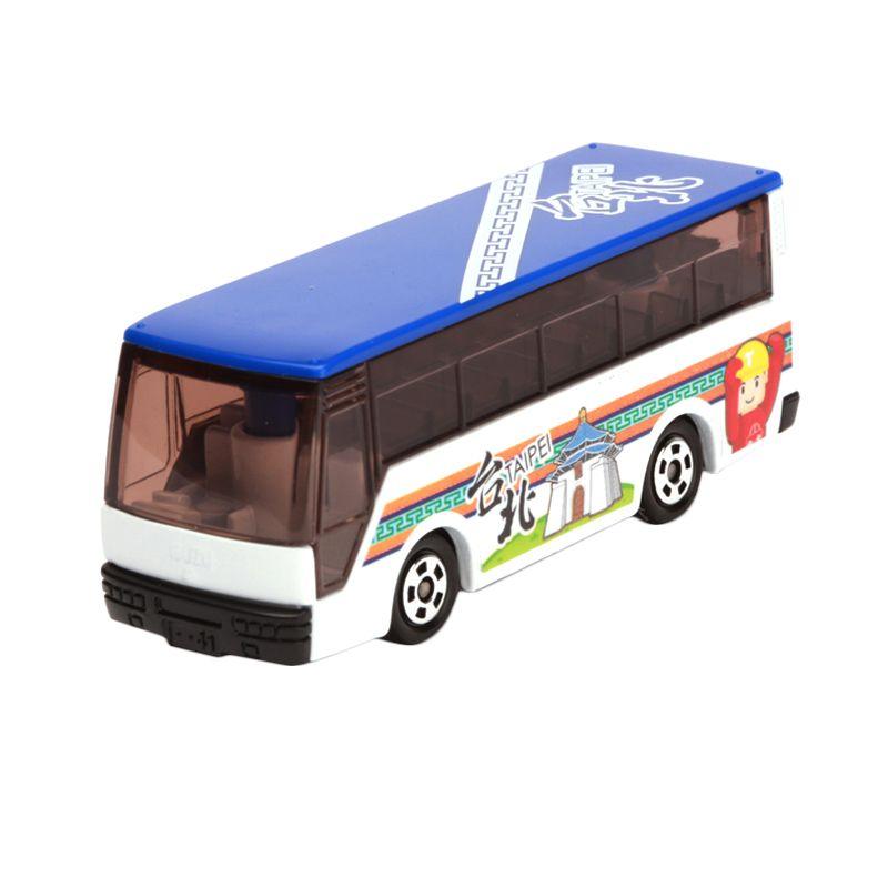 Tomica Taiwan Tourist Bus Taipei Blue Diecast