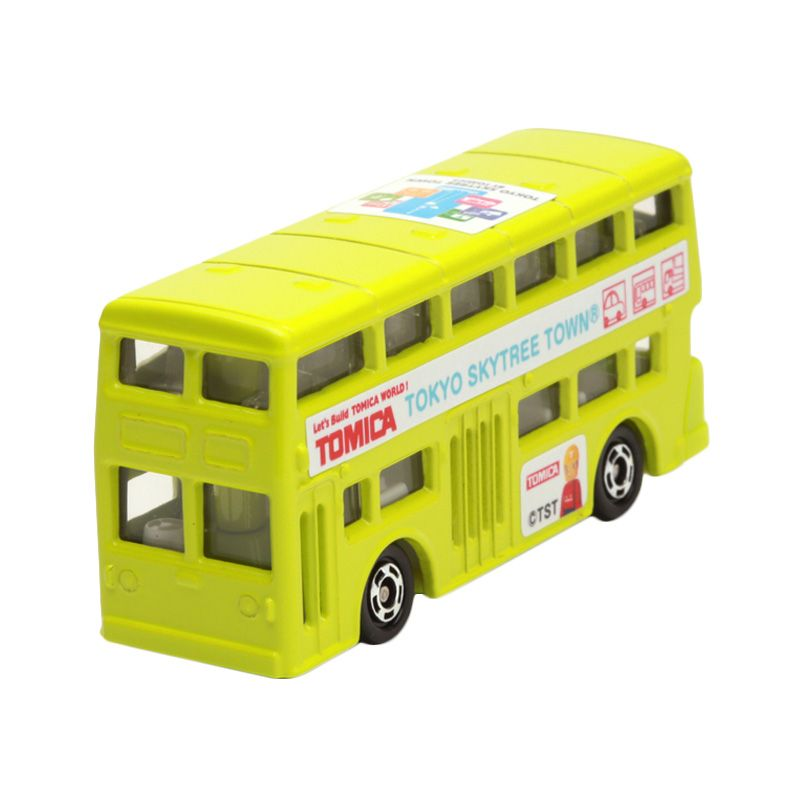 Tomica Tomica Skytree Town Bus Green Diecast