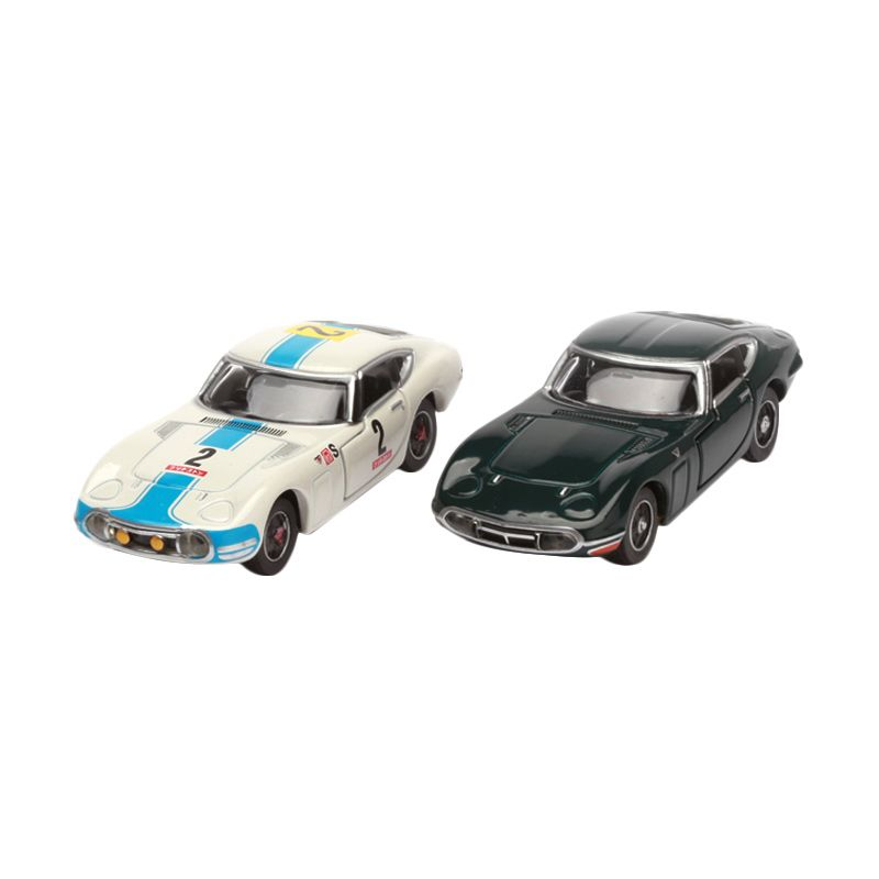 Tomica Toyota 2000GT White and Black Diecast [2 Pcs]