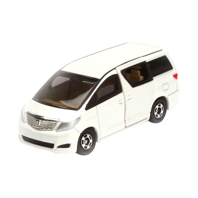 Tomica Toyota Alphard White Diecast