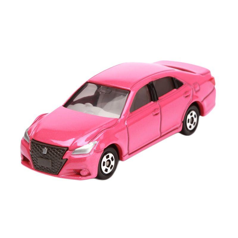 Tomica Toyota Crown Athlete Pink Diecast