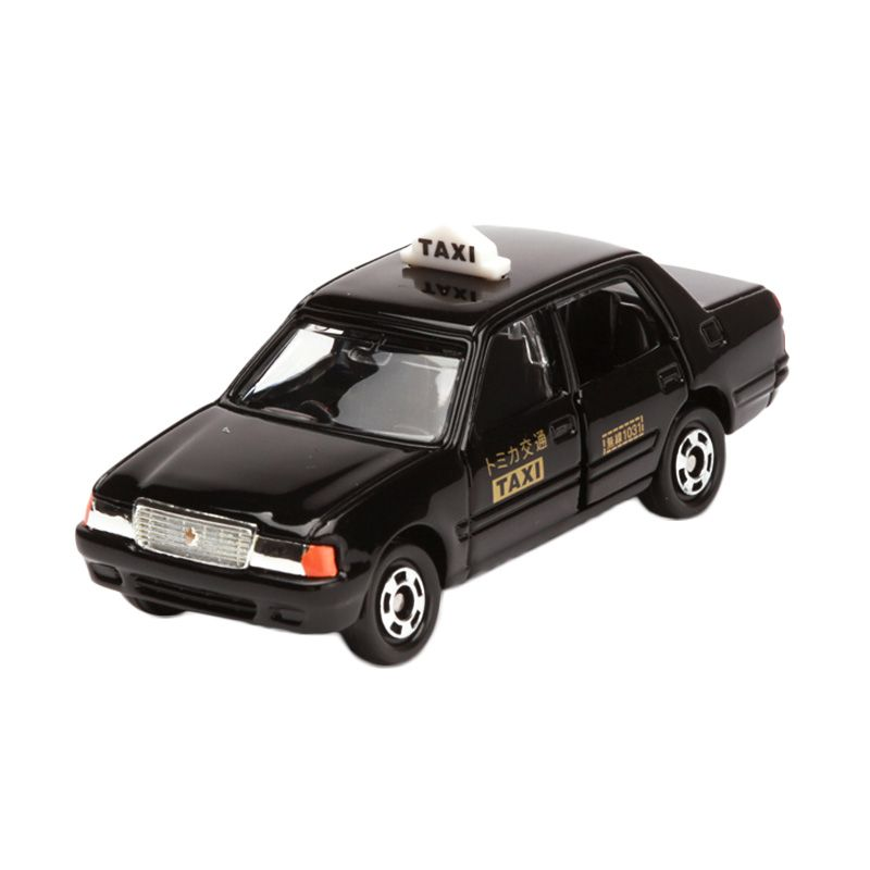 Tomica Toyota Crown Comfort Taxi Black Diecast