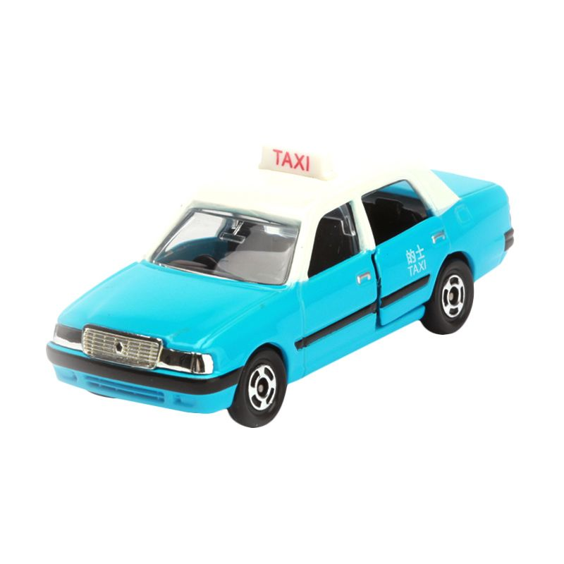 Tomica Toyota Crown Comfort Taxi Blue Diecast