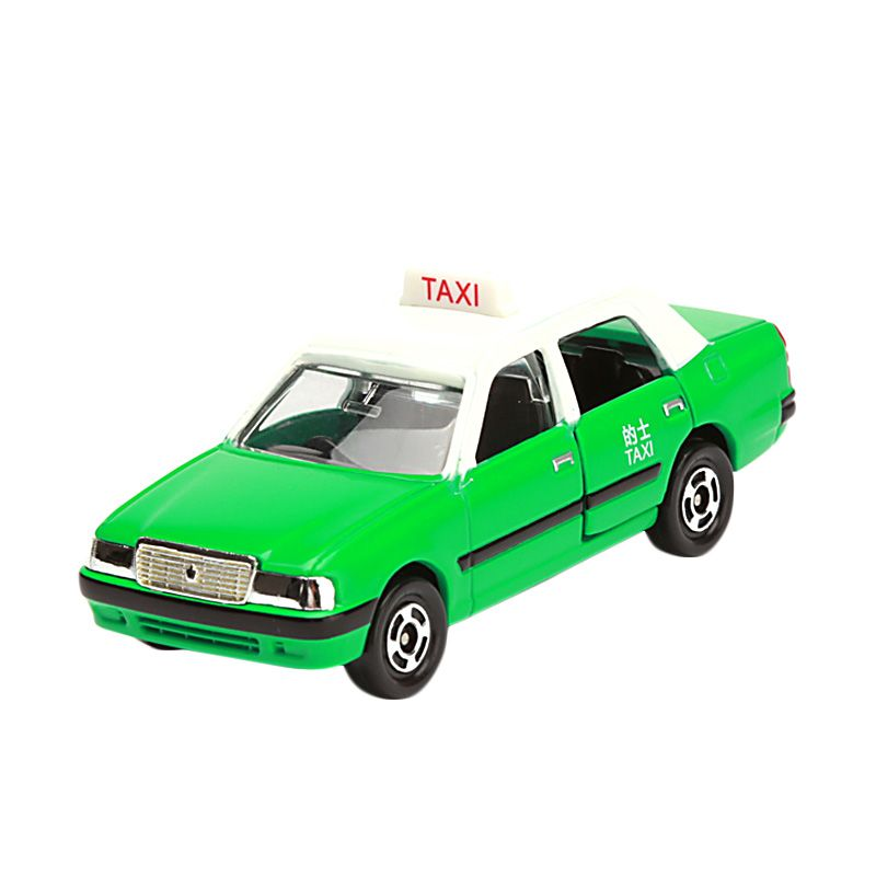 Tomica Toyota Crown Comfort Taxi Green Diecast