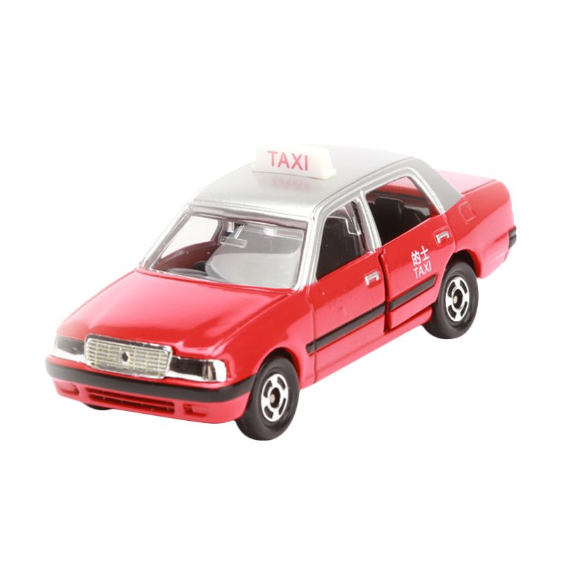 Tomica Toyota Crown Comfort Taxi Red Diecast