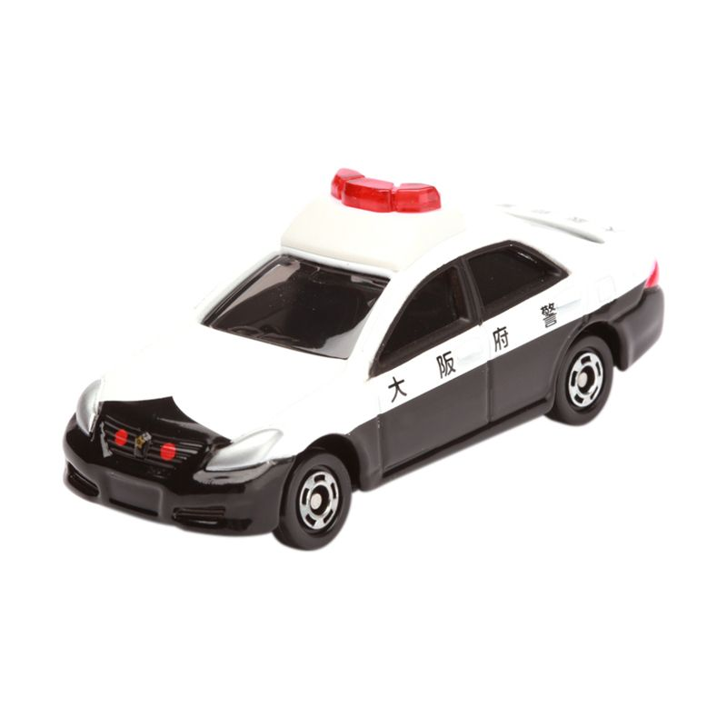 Tomica Toyota Crown Patrol Car White Diecast [1:64]