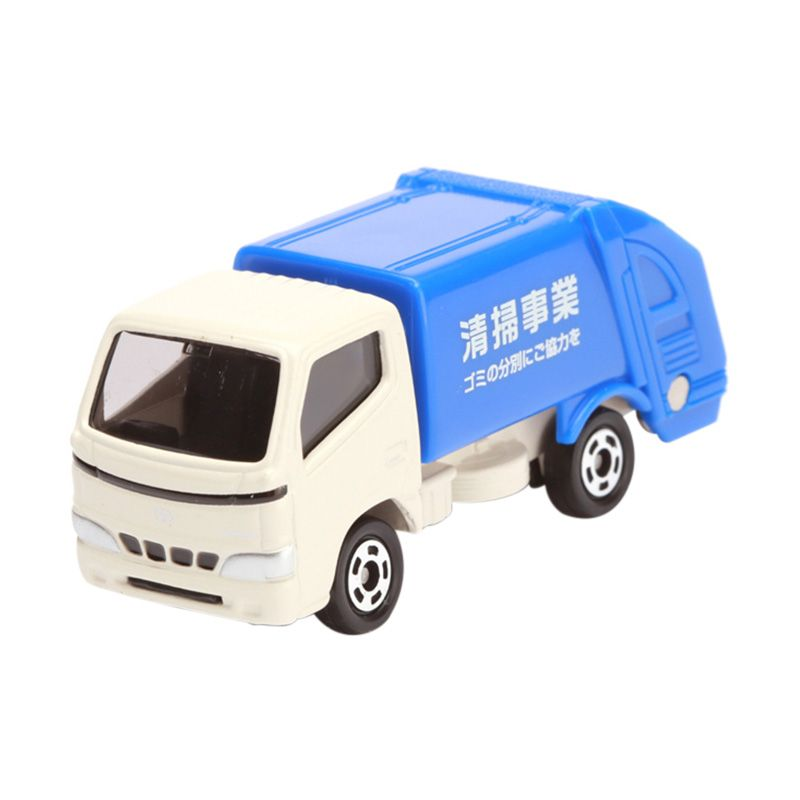 Tomica Toyota Dyna Refuse Truck Blue Diecast