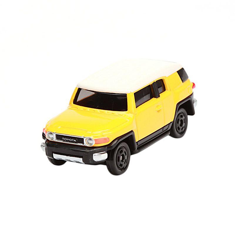 Tomica Toyota FJ Cruiser Yellow Diecast