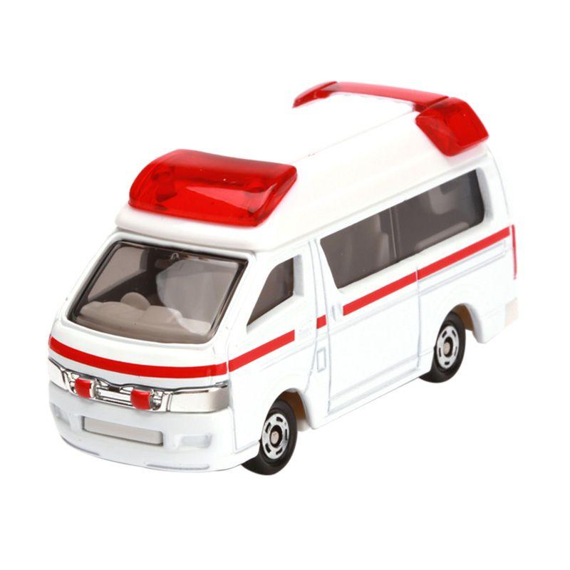 Tomica Toyota Himedic White Diecast
