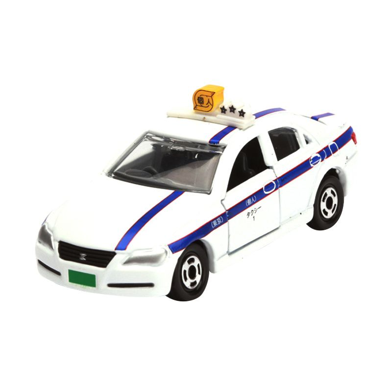 Tomica Toyota Mark X Owned Car White Diecast