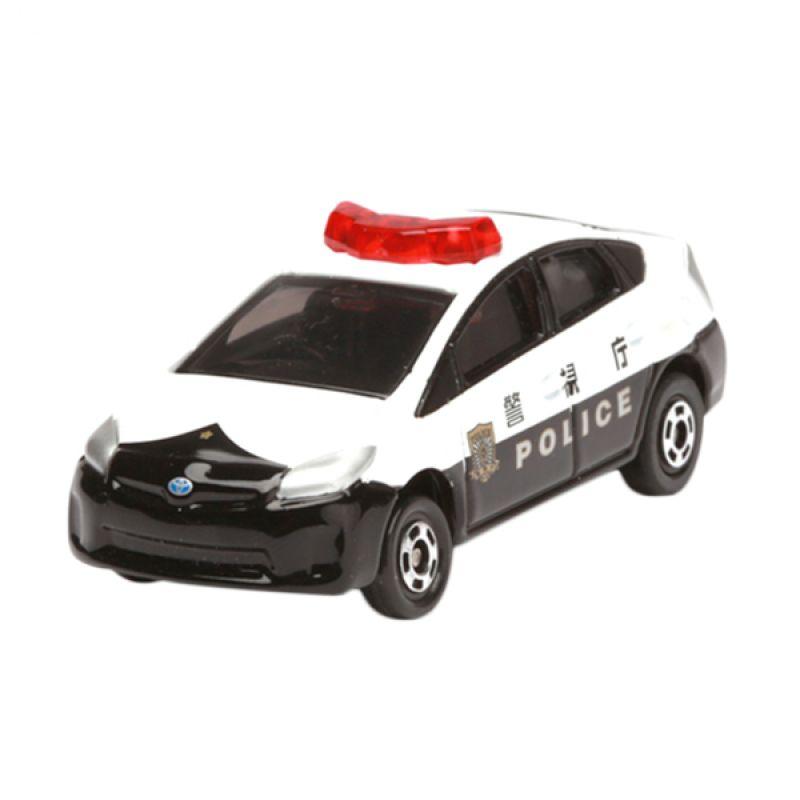 Tomica Toyota Prius Patrol Car Japan White Diecast