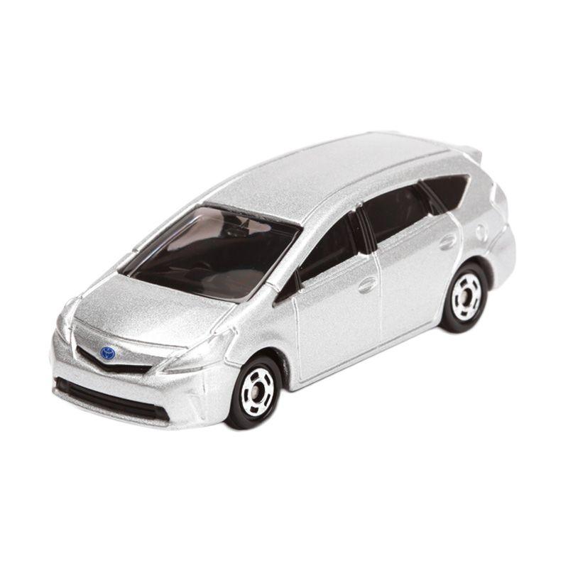 Tomica Toyota Prius Silver Diecast