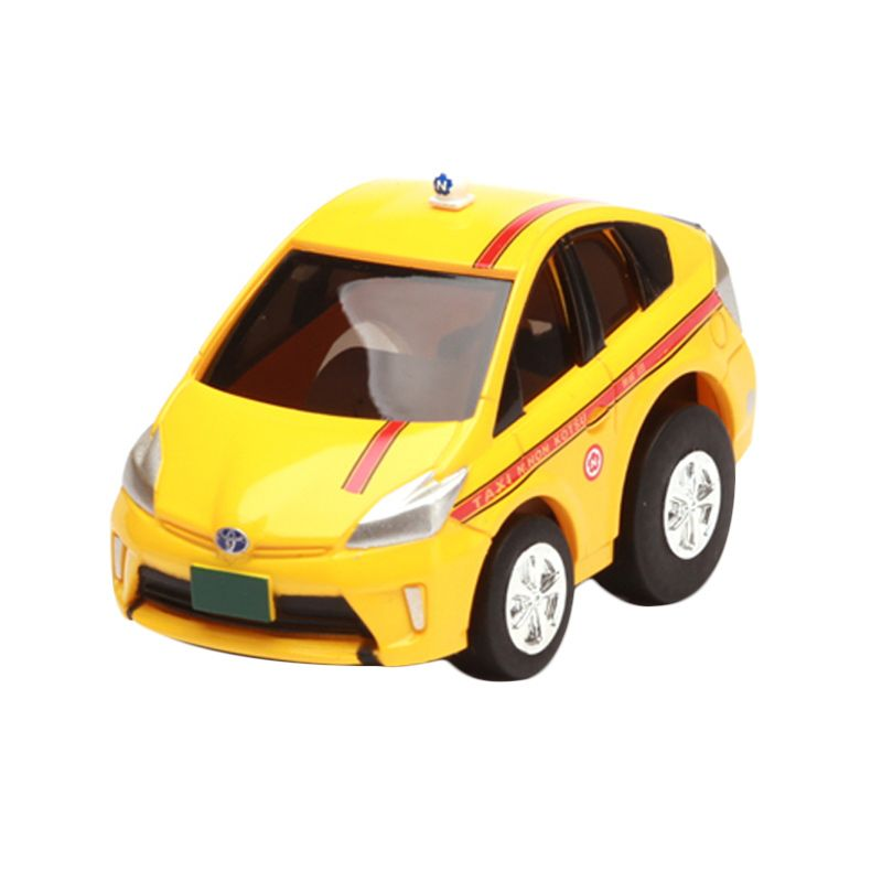 Tomica Toyota Prius Taxi Yellow Diecast