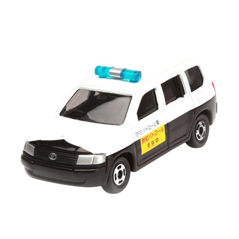 Tomica Toyota Probox Voluntary Security Police Car White Diecast