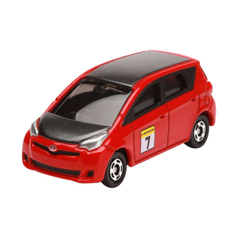 Tomica Toyota Ractis Race Type Black Red Diecast
