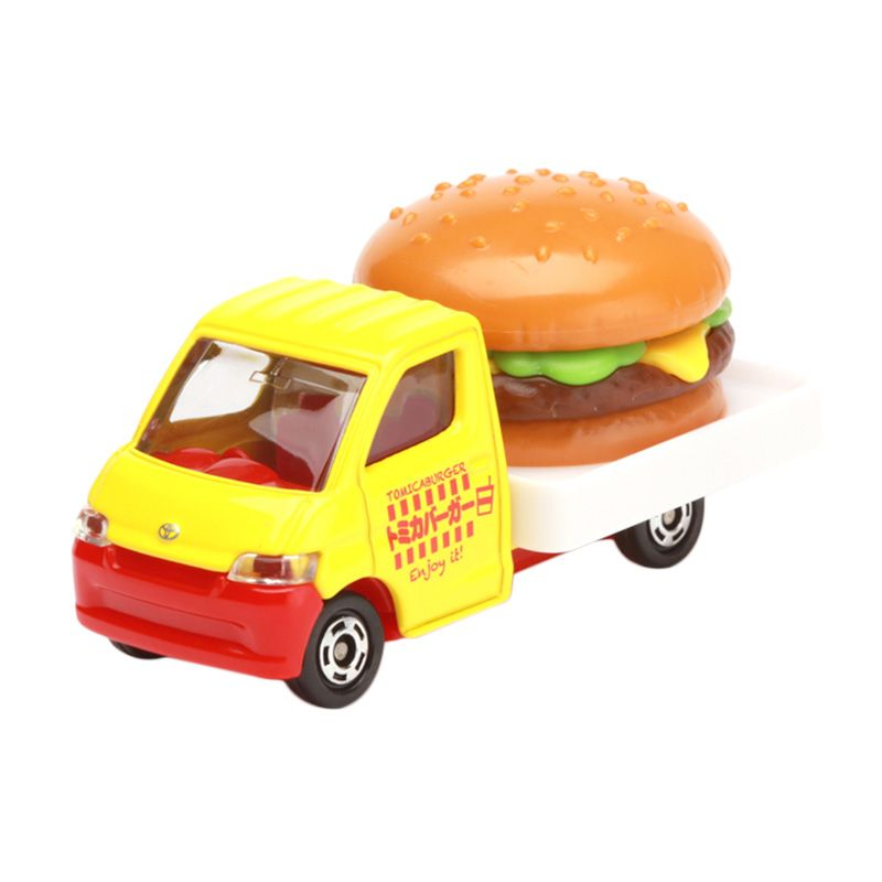 Tomica Toyota Town Ace Hamburger Car Yellow Diecast