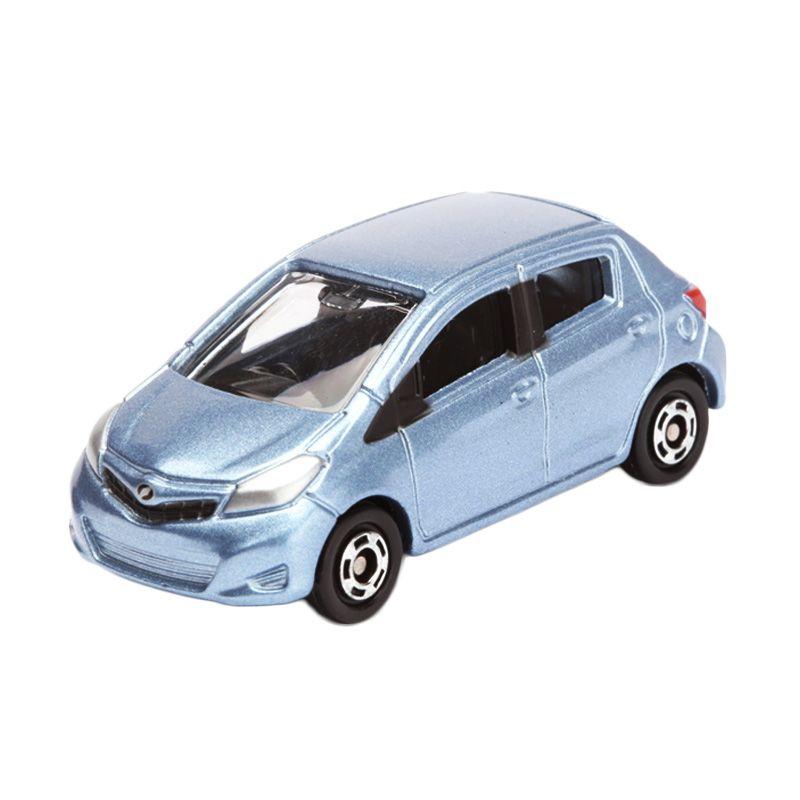 Tomica Toyota Vitz Blue Diecast