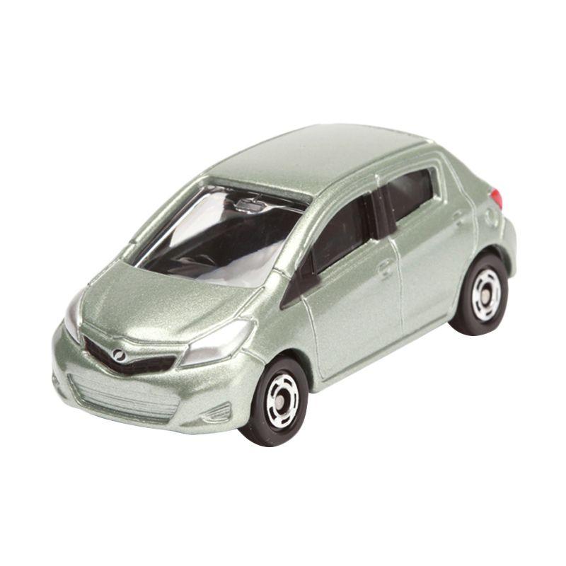 Tomica Toyota Vitz Green Diecast