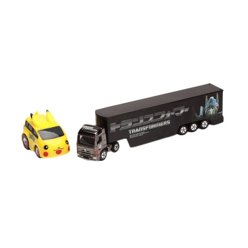Tomica Transformer and Pikachu Brown Diecast [1:64]