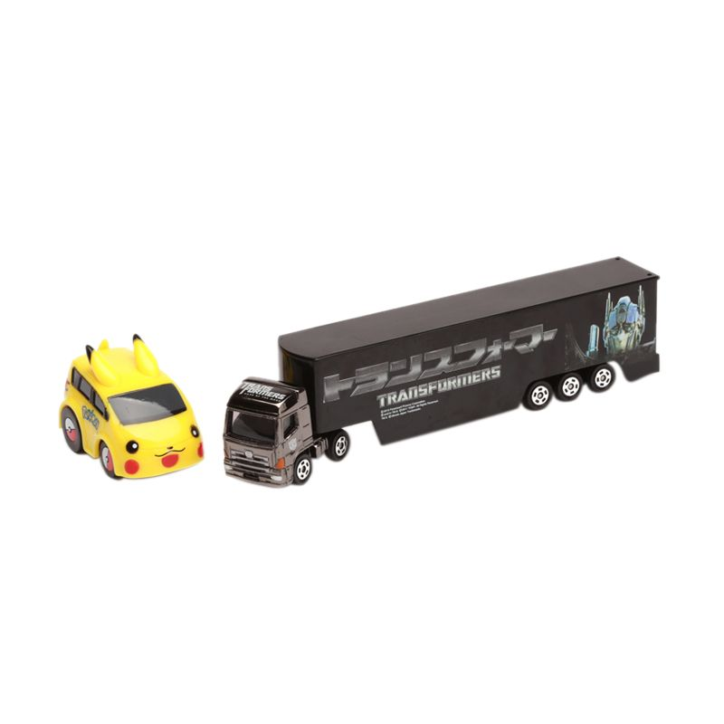 Tomica Transformer and Pikachu Brown Diecast