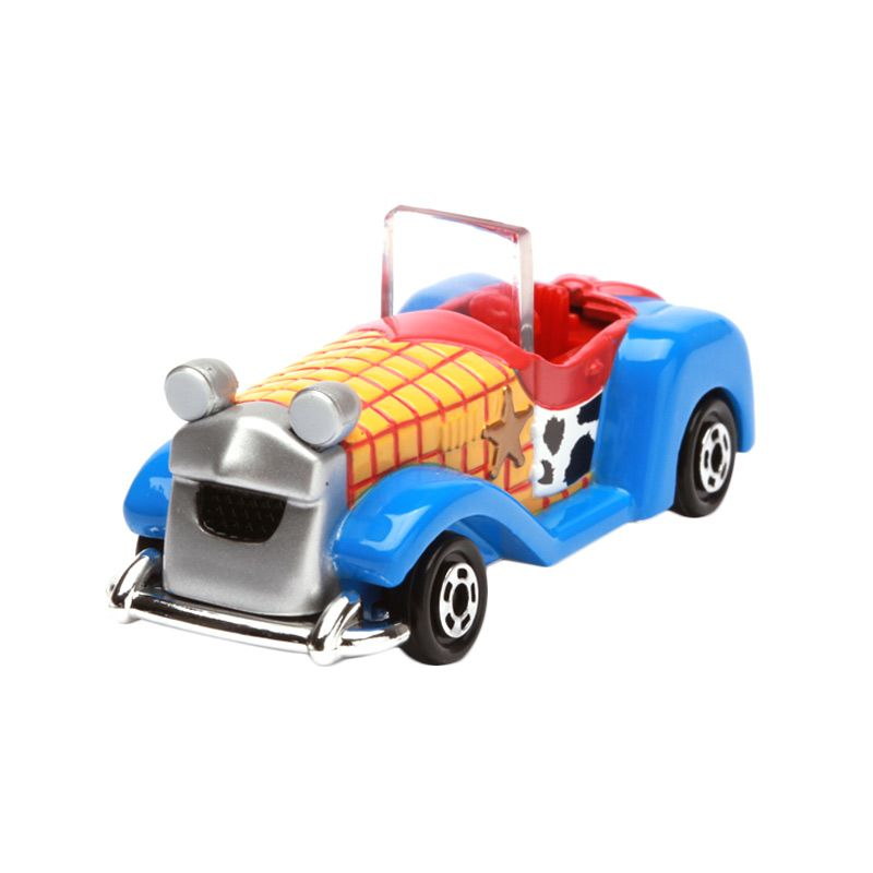 Tomica Woody Sheriff Car with Roof Toy Story Blue Diecast
