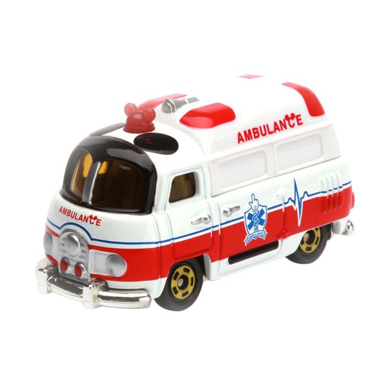 Tomica Worm's Ambulance White Diecast