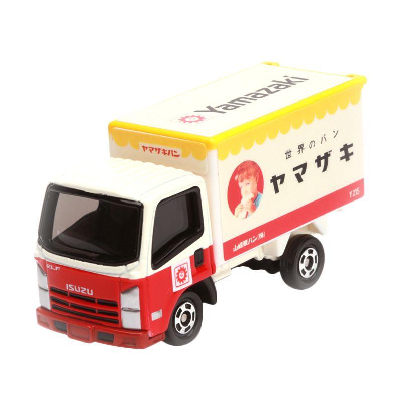 Tomica Yamazaki Delivery Truck White Diecast