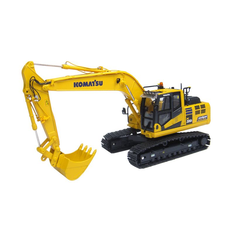 Universal Hobbies Komatsu PC 200i-10 Intelligent Machine Control Diecast [1:50]